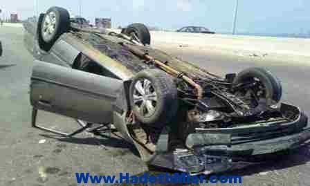 إصابة 6 أشخاص إثر إنقلاب سيارة بطريق الغردقة – سفاجا