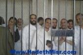 """تأجيل محاكمة 18 إخوانيا بأسيوط بينهم أمين """"الحرية والعدالة"""" للغد"""