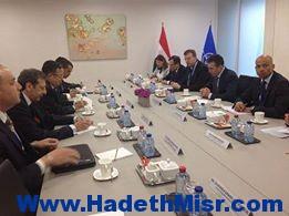 وزير الخارجيه يلتقي بسكرتير عام الناتو ويناقش معه سبل التعاون الثنائي ومكافحة الإرهاب