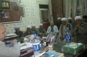إجتماع لعمد قرى مراكز أبنوب بأسيوط لمتابعة عملية الأمن والأستقرار