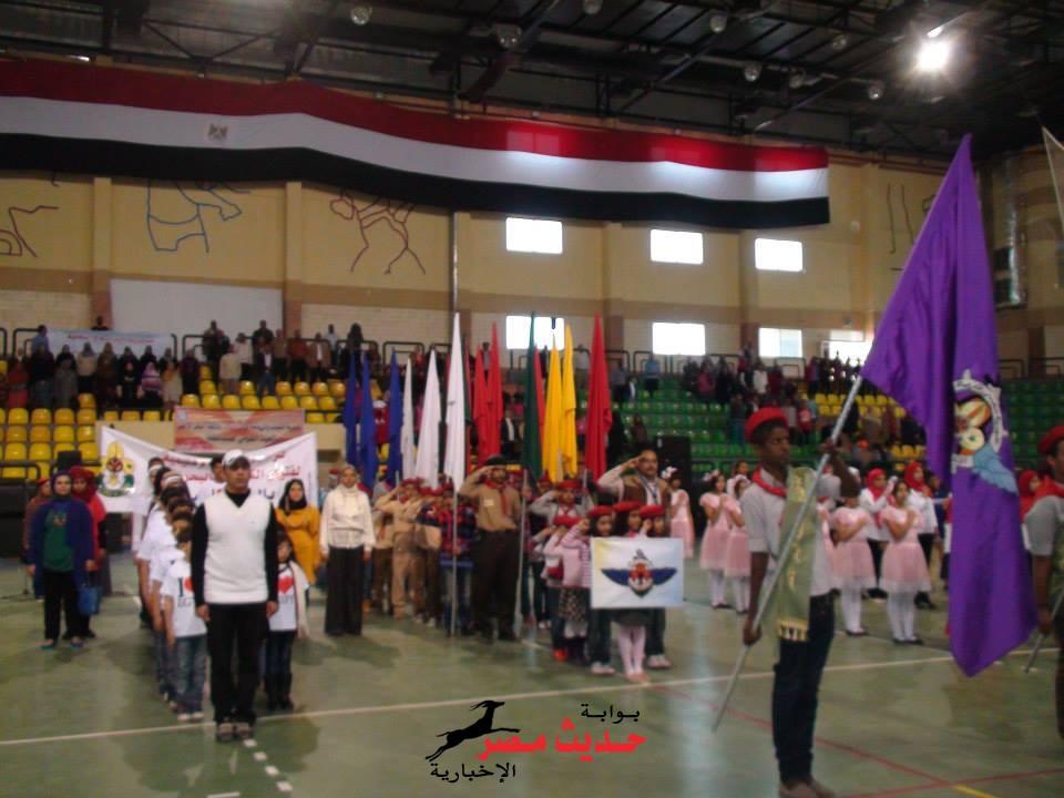 البحر الأحمر تحقق المركز الأول في المشروع القومي لرياضة المرأة