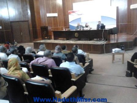 يوم تدريبى للعاملين بديوان عام محافظة البحر الأحمر على الخدمة المدنية