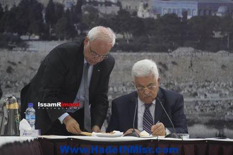 الرئيس عباس يقلب الطاولة