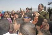 بالصور .. مديرية أمن سوهاج تحتفل بيوم اليتيم ..ونائب قطاع الجنوب يزور معهم مصنع السكر