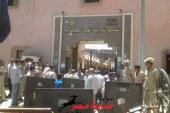 أمناء وأفراد شرطة قسم أول أسيوط يضربون عن العمل ويغلقون الأبواب احتجاجًا على نقل ضابطين