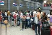وصول 15 ألف و 600 سائح لمطار الغردقة على متن 90 رحلة طيران دولية