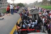 تعطل حركة القطارات إثر سقوط نخلتين على قضبان السكة الحديدية بسوهاج