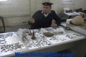 ضبط  11 قطعة أثرية قبل بيعها بالفيوم