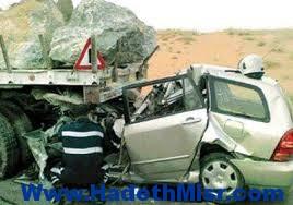 وفاه شخص وإصابة ثلاثة فى حادث تصادم بطرق الجيش بأسيوط