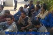 إضراب عمال شركة النصر للتعدين للمطالبة بالحصول على أراضى و بدل تغذية