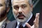 """هنية يدعو الفصائل الفلسطينية في لبنان إلى """"عدم الاحتكام للسلاح"""""""