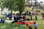 الحدائق والمتنزهات بأسيوط تستقبل مئات المواطنين بالمجان احتفالا بيوم شم النسيم