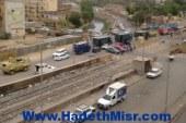 الجيش والشرطة يواصل دورياته لتمشيط منطقة اشتباكات أسوان