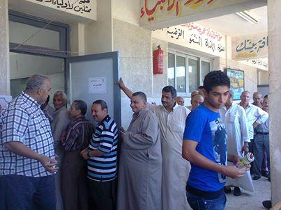 إنتظام سير العملية الإنتخابية فى المحلة الكبرى