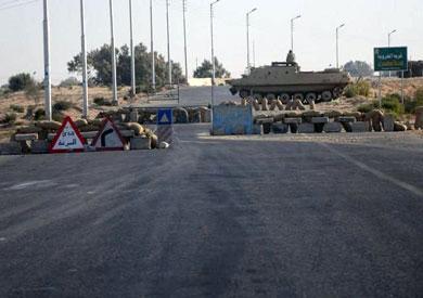 استهداف مدرعة وسقوط صاروخ قرب معسكر أمنى بشمال سيناء
