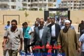 بالصور .. محافظ البحر الأحمر يشهد أخر أعمال تجهيزات مدرسة 30 يونية