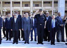 بالصور زيارة محلب لقطاع الأمن المركزي بالدراسه