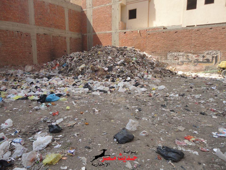 """المنصورة """"عروس النيل"""" تمتلى بالقمامة"""