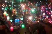 بالصور: مسيرة شعبية ضخمة بكفرالشيخ لدعم وتأييد السيسى