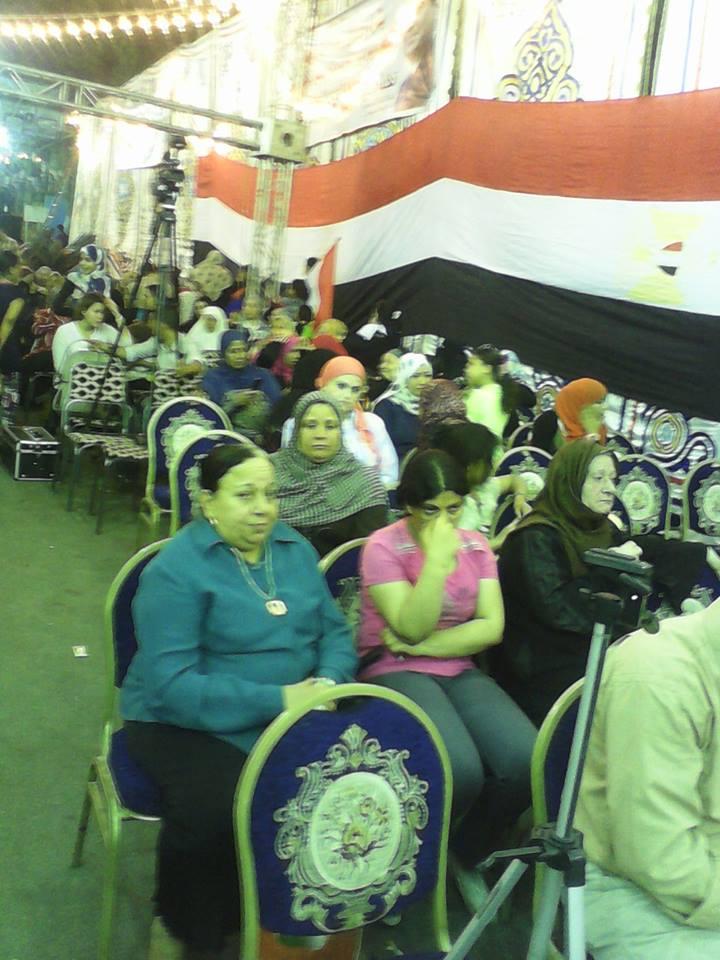 مؤتمر شعبى بعزبه النخل تحت رعاية حزب حماة مصر لتاييد ترشيح المشير عبد الفتاح السيسى