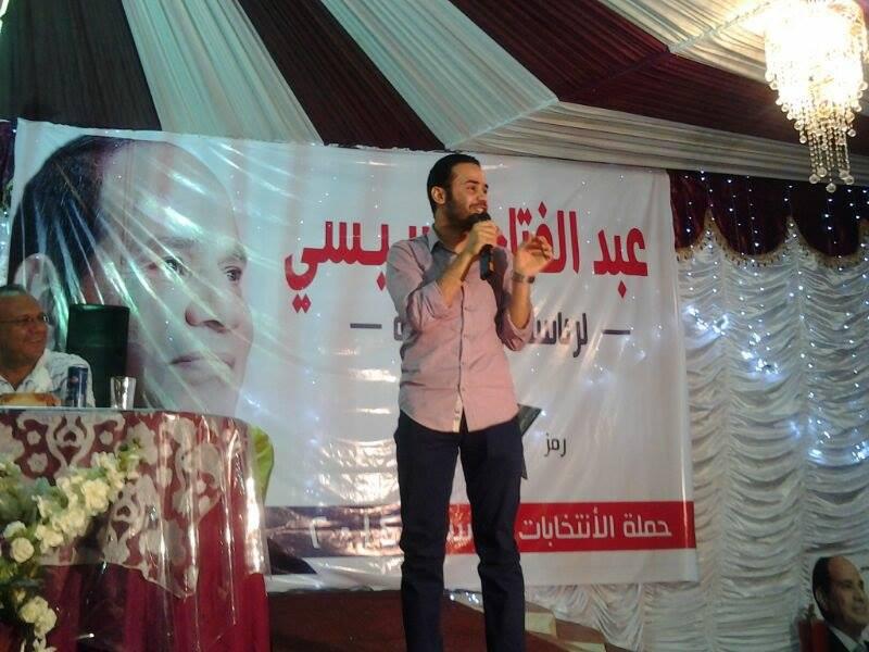 بالصور ..محمود بدر فى ضيافة مدينة راس غارب امس