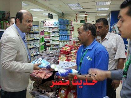وزير التموين يقوم بجولة مفاجأة على أحد المجمعات الإستهلاكية بمدينة نصر