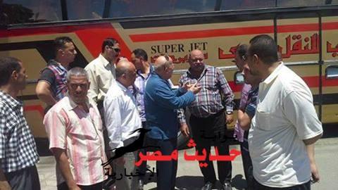 محافظ بورسعيد يوجة انذارا لشركات النقل البري بالمحافظة