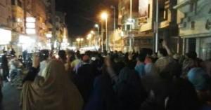 مسيرة لأنصار الإخوان بدمياط تطالب بمقاطعة الانتخابات