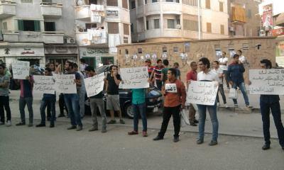 """بالصور..اولى فاعليات """"ضدك""""تطالب المواطنين بمقاطعة الانتخابات بدمياط"""