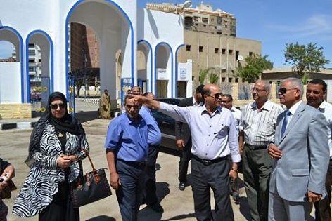 قرية الحجاج بالسويس تستعد لاستقبال حجاج بيت الله الحرام