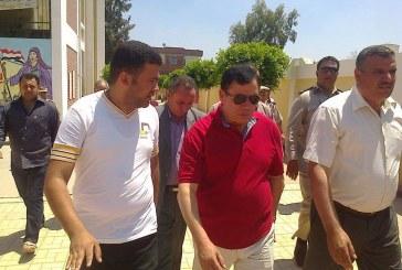 """بالصور ..""""منصور""""يتفقد اللجان الانتخابية بمدينة السرو بدمياط"""
