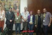 بالصور وفد الصحافة الألمانى يزور الهيئة العامة للاستعلامات ومؤسسة الأهرام