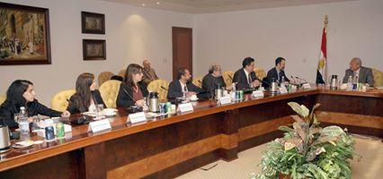 وزير الاتصالات يبحث مع الوفد الكاتلوني فرص التعاون بين مصر وكاتالونيا في مجالات الإبداع التكنولوجي