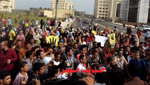 خروج 4 مسيرات للاخوان اليوم الجمعه بالقليوبيه