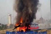 انفجار عبوة ناسفة على الطريق الدولى برفح و هجوم على قسم الشيخ زويد