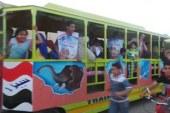 وسيلة جديدة بمدينة كفر الشيخ لنقل الناخبين من منازلهم لمقر اللجان الانتخابية