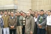 اضراب  عن العمل للمطالبه بالارباح السنويه لعمال كريستال عصفور بالقليوبيه