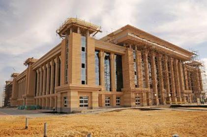 صورة مبنى مكتب النائب العام الجديد بالقاهره الجديده