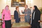 التلاوي تزور المنيا وتعقد مؤتمراً لأعضاء القومي للمرأه بمحافظات شمال الصعيد