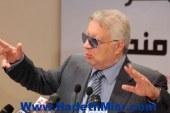 """المستشار مرتضى منصور: الرئيس المقبل """"دكر وراجل"""" ولن يسمح لقطر بالتدخل فى شئون مصر."""