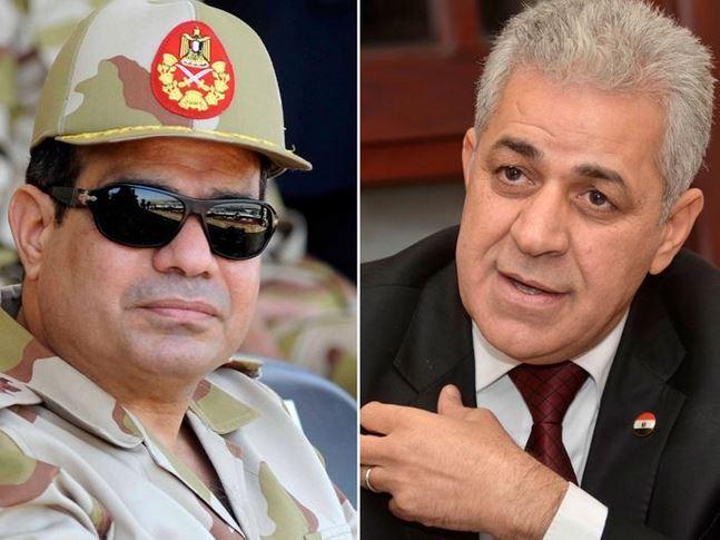السيسي 2234 صوتا مقابل 91صوتا لصباحى الثانوية العسكرية بدمياط