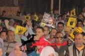 الشرقية يفض مسيرة إخوانية أطلقت شماريخ على منازل ترفع صور الرئيس