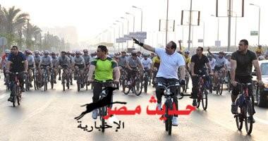 حارات للدراجات بالمدن تنفيذًا لمبادرة الرئيس