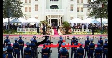 تكثيفا مشددا بالتزامن مع حلف الحكومة اليمين الدستورية أمام الرئيس