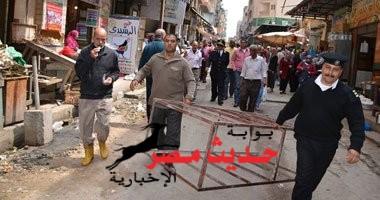 """مباحث القاهرة يصل""""الإسعاف"""" لتفقد إزالة إشغالات وسط العاصمة"""