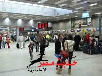 9 آلاف سائح على متن 45 رحلة طيران دولية  بمطار الغردقة
