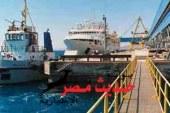 غلق ميناء سفاجا البحرى لإرتفاع سرعة الرياح و تأجيل إبحار 3 عبارات