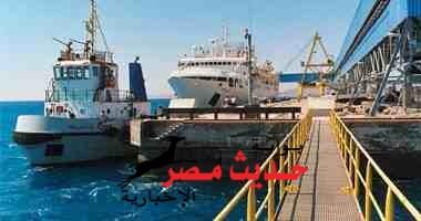 """مغادرة السفينة """"أوسيان ايندرو"""" للهند وعلى متنها 43 طن فوسفات من ميناء سفاجا البحرى"""