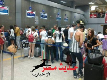 وصول 6300 سائح لمطار الغردقة على متن 36 رحلة دولية