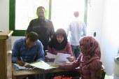 بالصور .. تلقى طلبات الوحدات السكنية للسيدات المقيمين بمدينة الغردقة